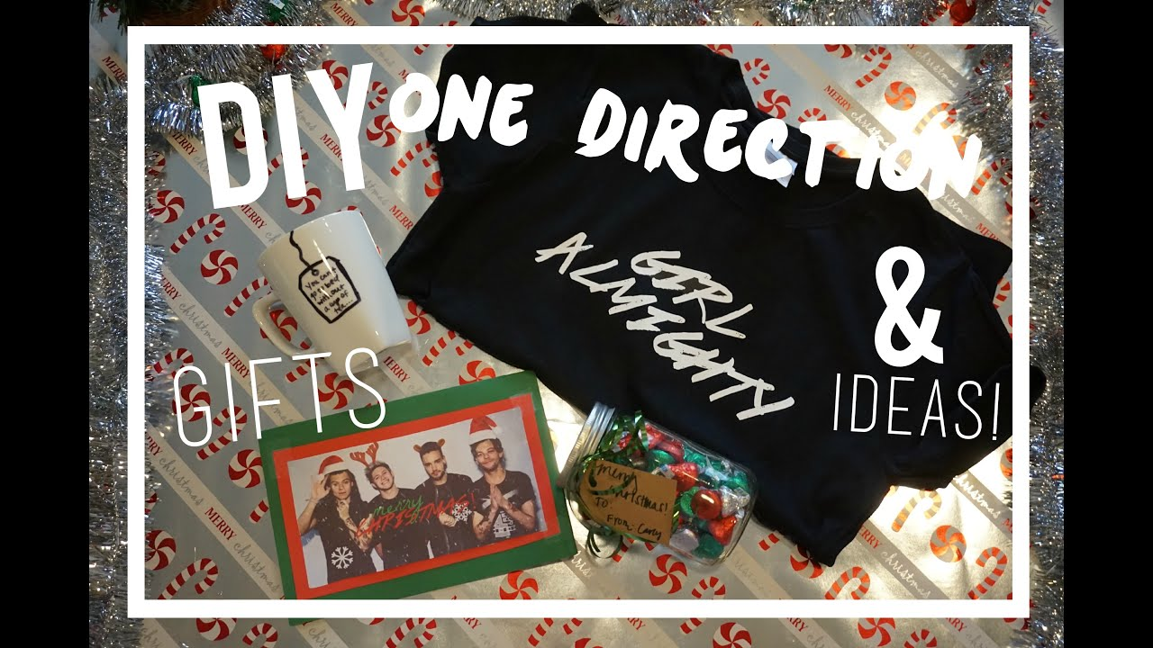 DIY One Direction Holiday Gifts & Ideas! Collab with TommFearn ...