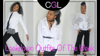 Lockdown Outfits Of The Week | Colleen G Lea