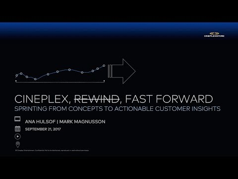 ToRCHI   Cineplex Rewind, Fast Forward: Sprinting from Concepts to Actionable Results