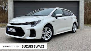 2021 Suzuki Swace: The Toyota Corolla Hybrid Clone   Full Review   Test Drive   German Autobahn
