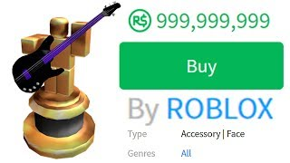 MOST EXPENSIVE ROBLOX ITEM IN THE WORLD!