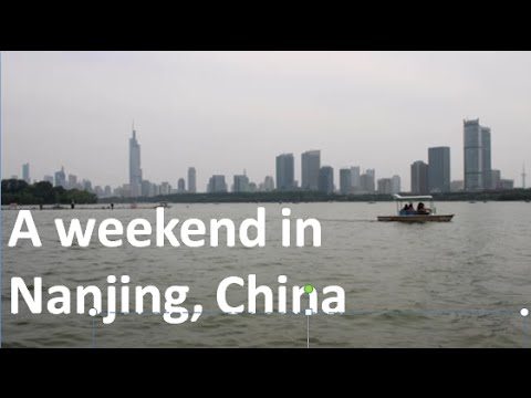 Weekend Trip to Nanjing, China