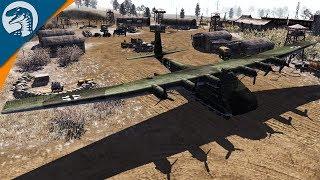 GIANT CARGO PLANE DESTROYED | Red Tide | Men of War: Assault Squad 2 Gameplay