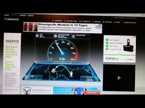 Vodafone VDSL50 in Action
