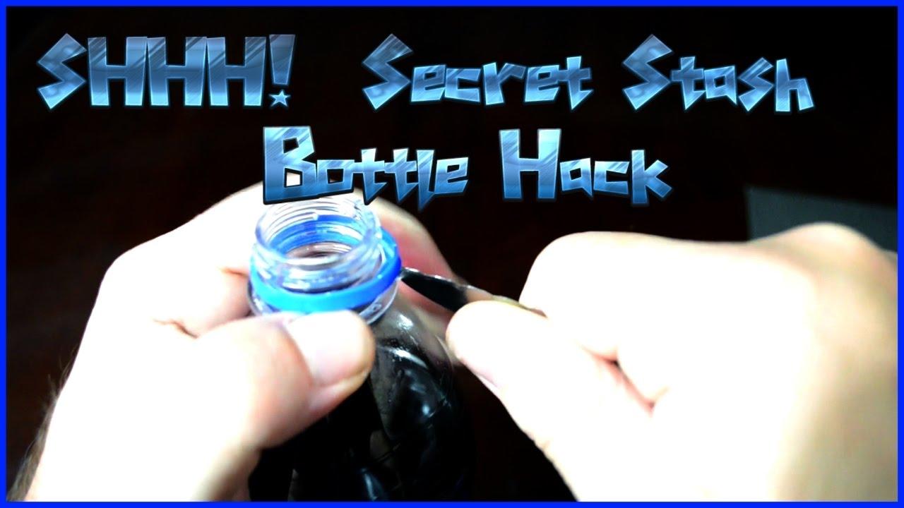 How to make a secret stash bottle