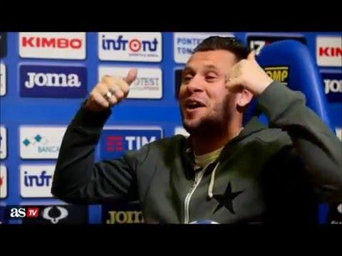 Antonio Cassano - Sexo y Comida en el Real Madrid