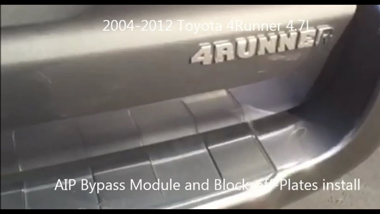 Toyota 4runner Aip Bypass Kit Install Rutech Solutions Youtube 2008 Wiring Harness