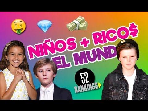 LOS NIÑOS MÁS RICOS DEL MUNDO