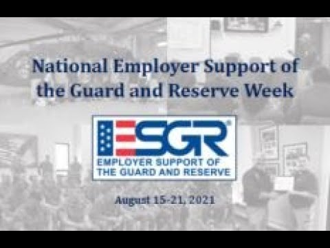 National Employer Support of the Guard and Reserve (ESGR) Week