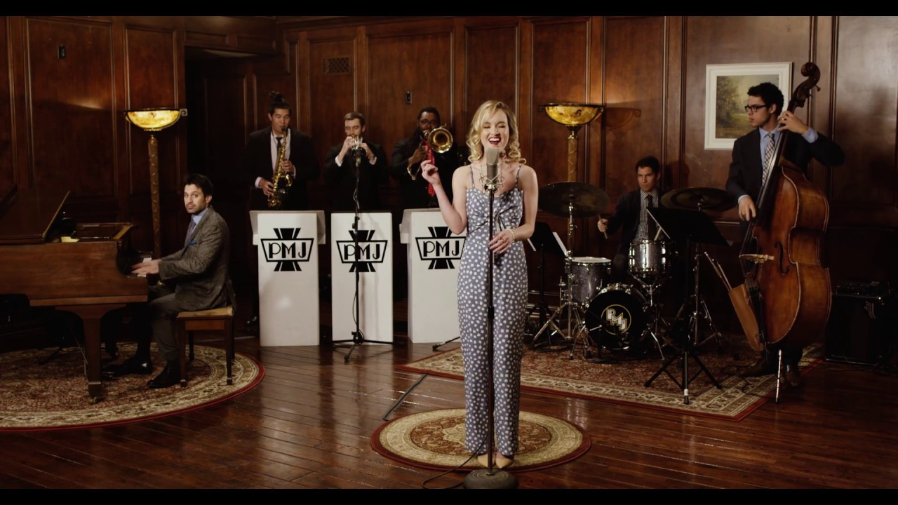 Resultado de imagem para Poker Face - 1946 Big Band Style Lady Gaga Cover ft. Kelley Jakle