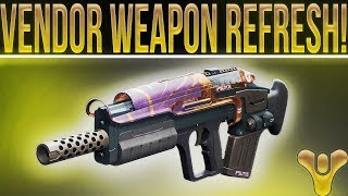 Destiny 2 Vendor Weapon Refresh 2-7-2018 (Pulse Rifle Week, State Of D2 & Covering Other Games.)