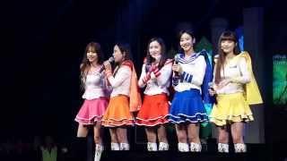 150515 크레용팝 (Crayon Pop) 부산 한국해양대학교 축제 공연 직캠