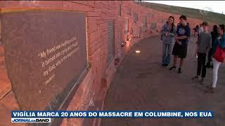 Vigília marca 20 anos do massacre em Columbine, nos EUA