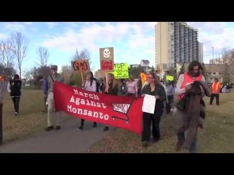 March Against Monsanto Edmonton