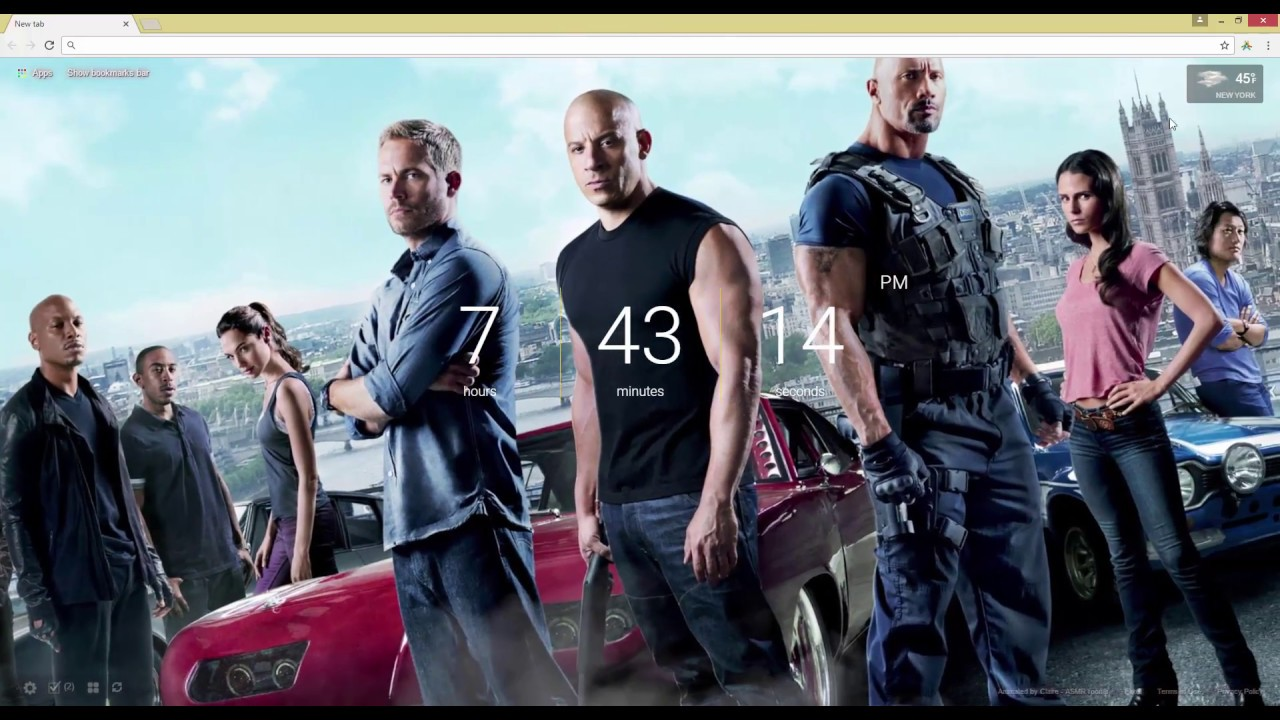 Fast And Furious 6 Live Wallpaper Youtube