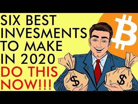 6 BEST INVESTMENTS TO MAKE IN 2020   DO THIS NOW