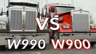 Kenworth W990 vs W900 The battle of 2019