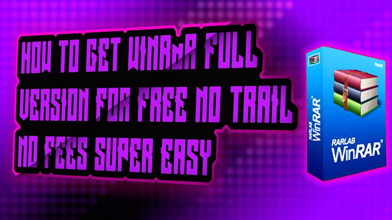 free version of winrar for windows 7