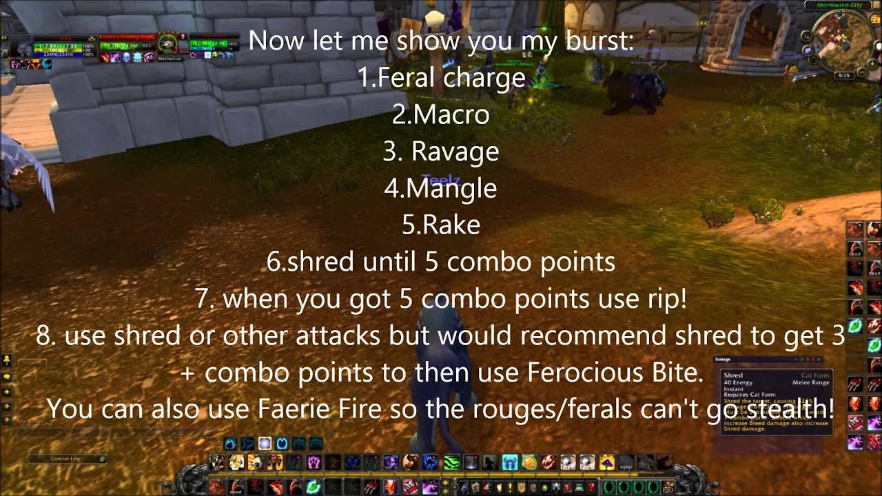 Images of Wow Druid Macros - #rock-cafe