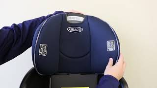 GracoR SequelTM SequenceTM 65 How To Remove And Replace The Car Seat Cover