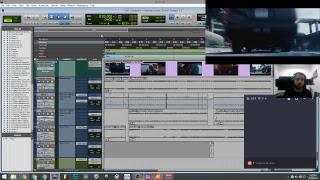 Audio Post-production (Sound Design Session 01) Deadpool Movie