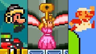 Super Mario TOP 5 GLITCHES (SNES, NES)