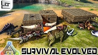 ARK: Survival Evolved - NEW HOUSE! NEW TOWN! E9 ( Gameplay )