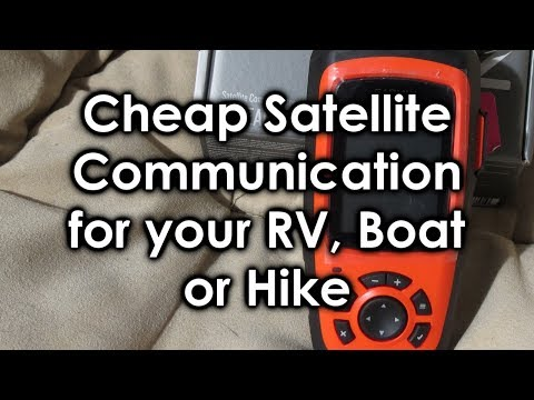 Cheap Satellite Communication for your RV, Boat, or Hike (Review)