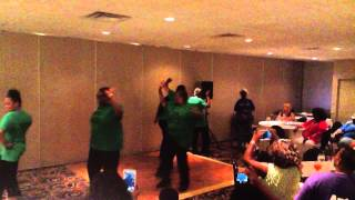 www.LetStep.com - GA Ave Steppers compete/win 1st place in line dance competition
