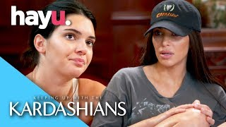 Kendall Storms Out Of Media Training | Keeping Up With The Kardashians
