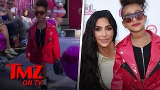 North West Makes Her Catwalk Debut! | TMZ TV
