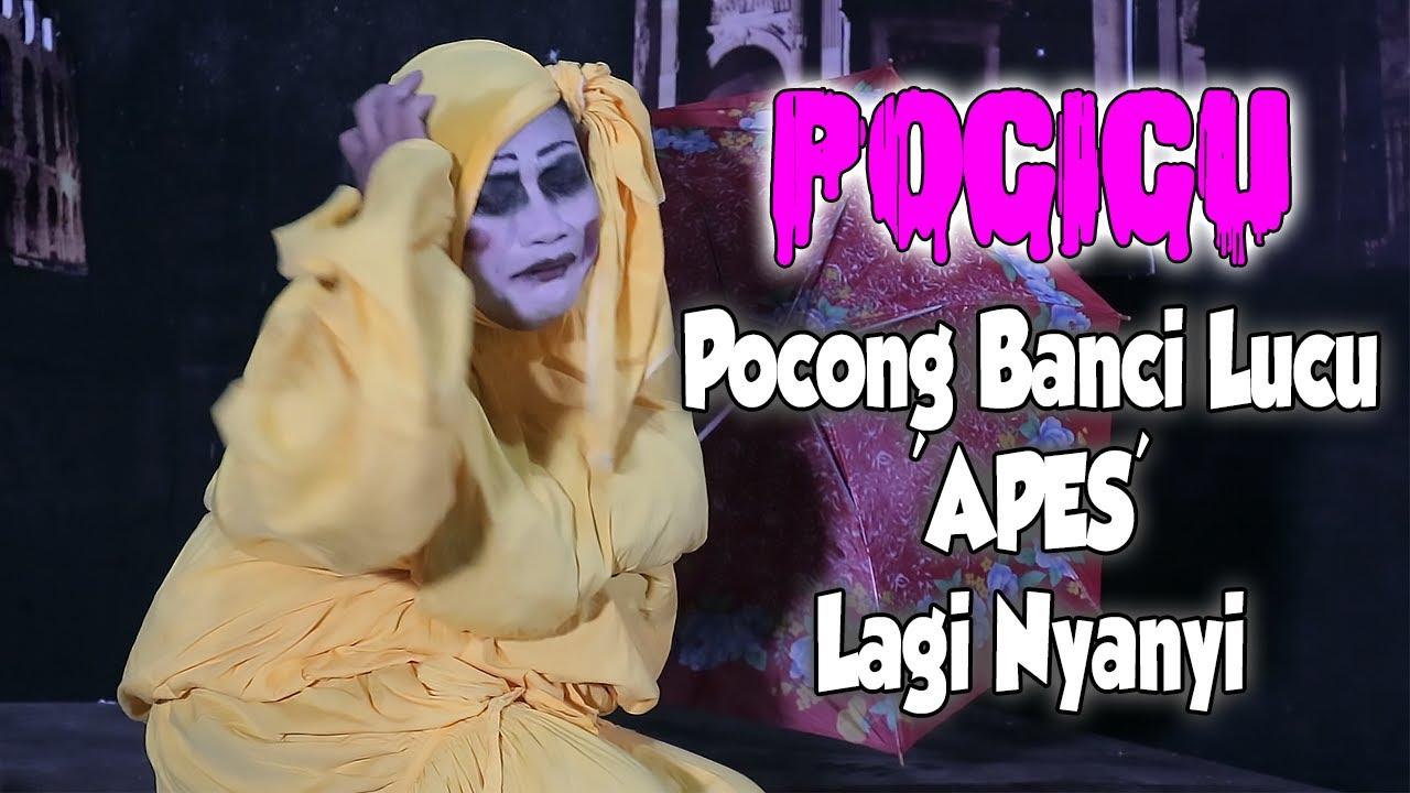 Maaf ku Pergi Versi POCICU (Pocong Banci Lucu) | Pocong Nyanyi Dangdut
