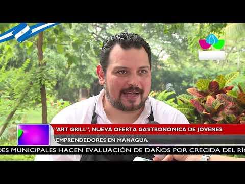 ART Grill: nueva oferta gastronómica de jóvenes emprendedores en Managua