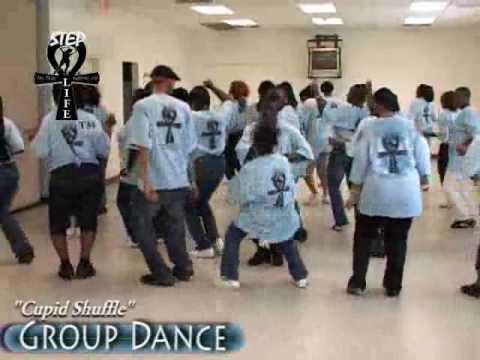 Step  Line Dance  Cupid Shuffle