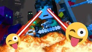 5 Minecraft Animations - Best Minecraft Animations - 5 Анимация Minecraft - Смешные Minecraft