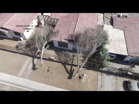 vientos en la ciudad de iquique captados con un drone