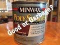 Minwax Polyshades Review