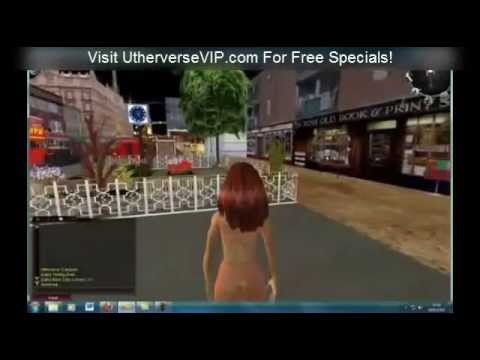 Build a City and Stroll in a virtual world at Utherverse