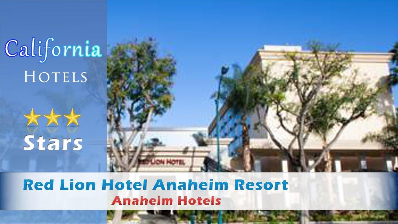 Red Lion Hotel Anaheim Resort, Anaheim Hotels - California - YouTube