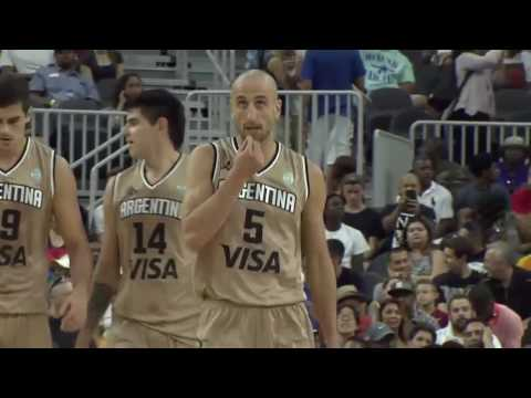 USA vs Argentina | July 22, 2016 | USA Basketball Showcase 2016