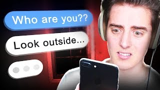 Reading creepy text stories
