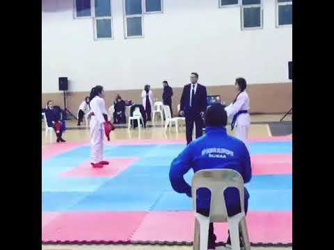 Bursa karate maçı 💣