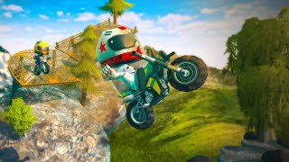 Moto Trial Racing 2: Two Player · Game · Gameplay
