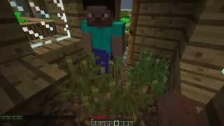 Minecraft Coop Часть 2 Добыча еды и ресурсов