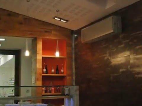 Dise o y decoraci n de locales pizzeria pulcinella for Disenos de pintura en paredes