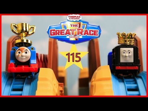 NEW THE BIGGEST! THOMAS AND FRIENDS THE GREAT RACE #115 TRACKMASTER THOMAS DIESEL  KIDS TOY TRAINS