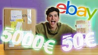 BOITE MYSTÈRE À 5000€ VS BOITE MYSTÈRE À 50€