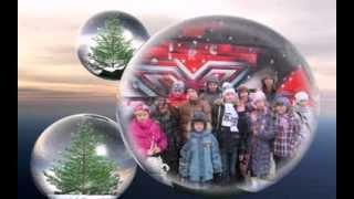 Дети СС ФМШ № 22 г.Алчевска на празднике Нового года.