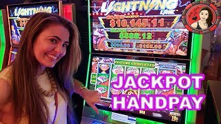 HANDPAY JACKPOT on Lightning Link Slot Machine on Royal Caribbean