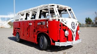LEGO Volkswagen Type 2 T1 Bus (Camper) by Sheepo
